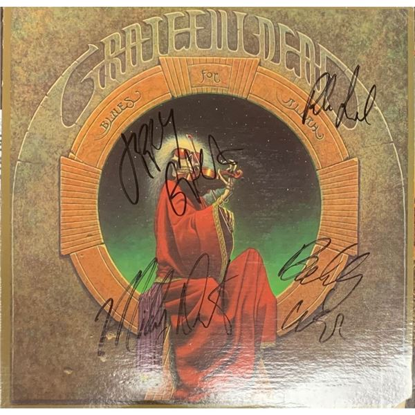 Signed Grateful Dead Blues For Allah Album Cover