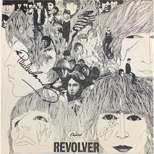 Signed Beatles Revolver Album