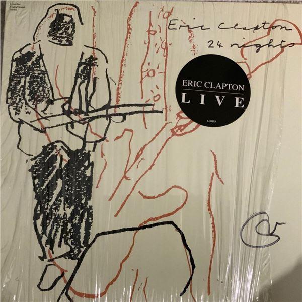 Signed Eric Clapton 24 Nights Album