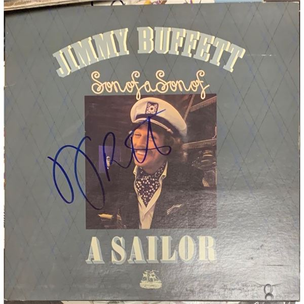 Signed Jimmy Buffett, Son of a Son of a Sailor Album Cover