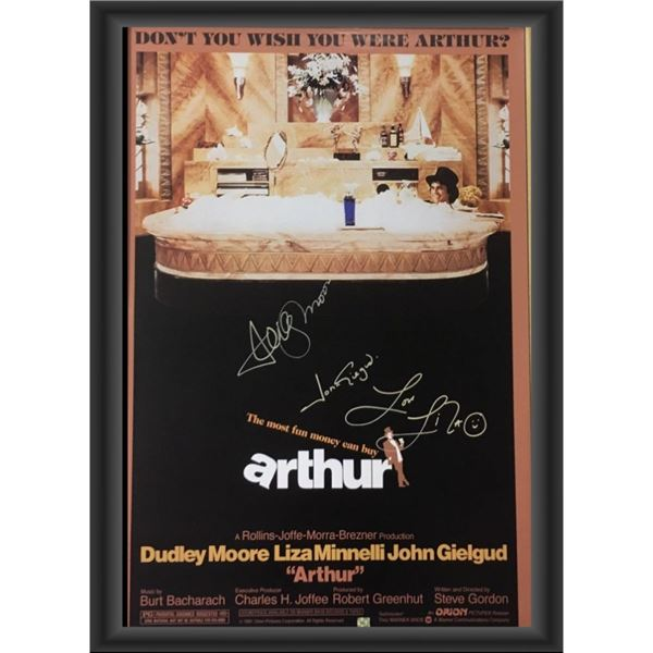 Signed Arthur Movie Poster