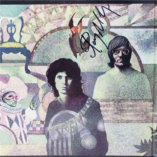 Signed The Doors The Soft Parade Album Cover