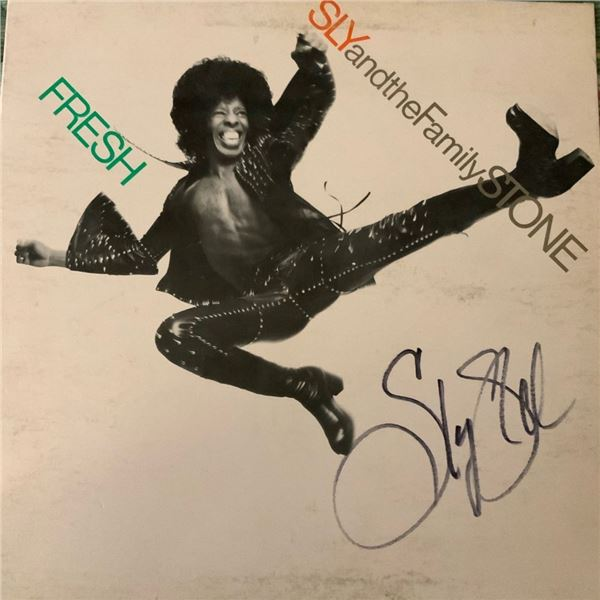 Signed Sly and The Family Stone, Fresh Album Cover