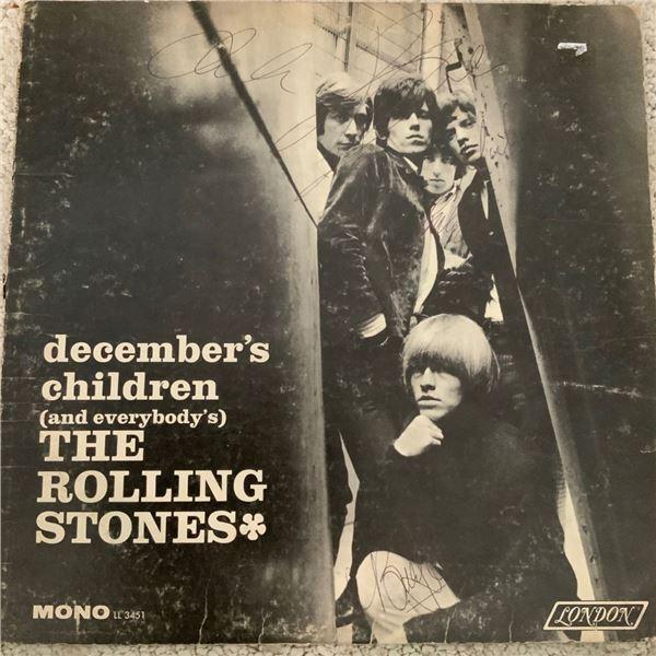 Signed Rolling Stones December's Children Album