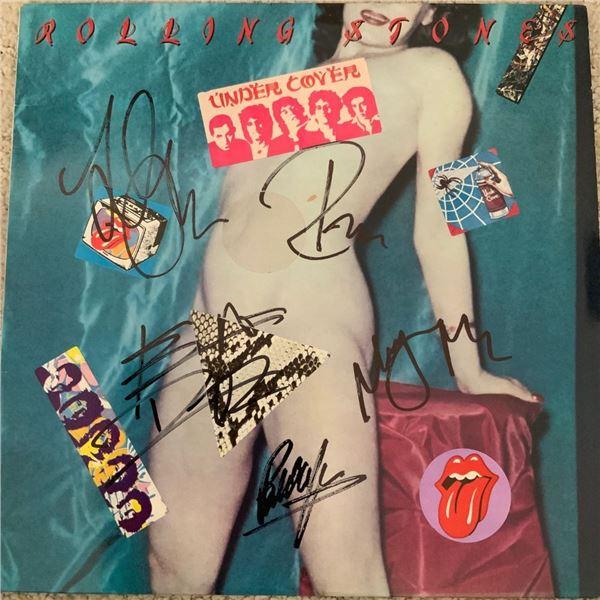 Signed Rolling Stones Under Cover Album
