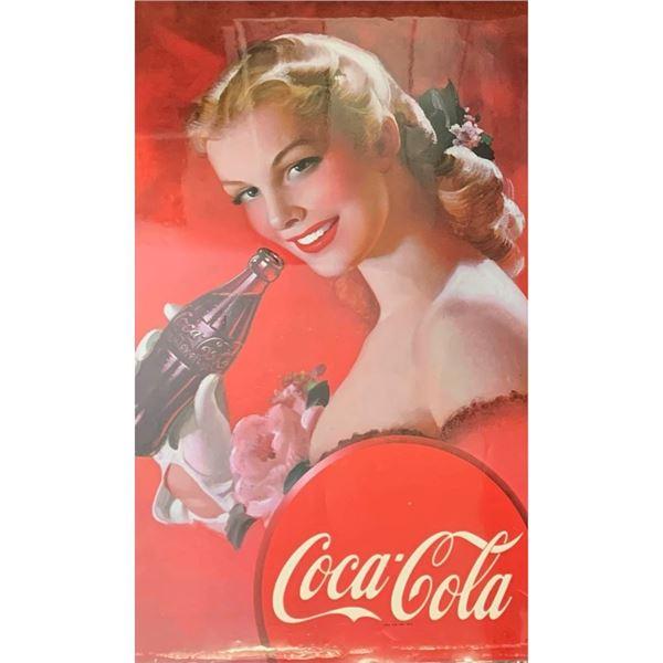 Vintage Coca Cola Laminated Poster