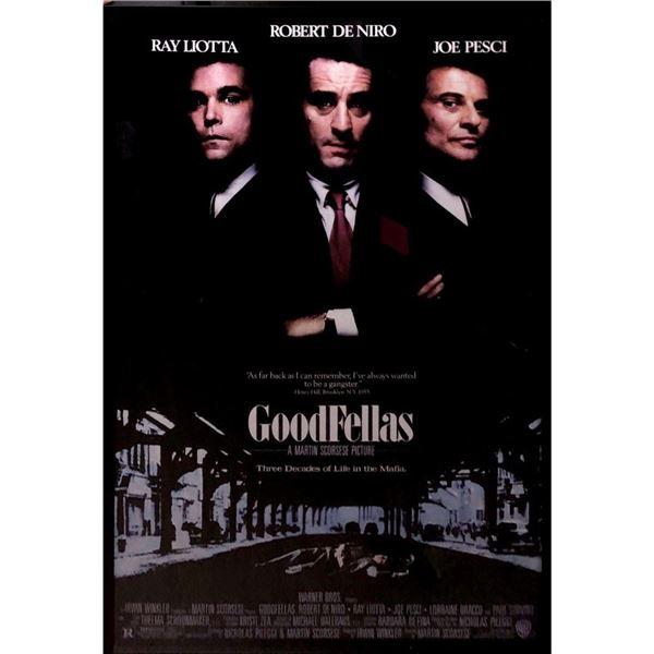 Goodfellas Movie Poster Framed