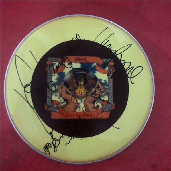 Signed Dio Drumhead