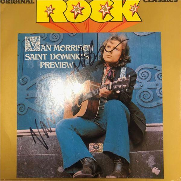 Signed Van Morrison St. Dominic's Preview Album Cover