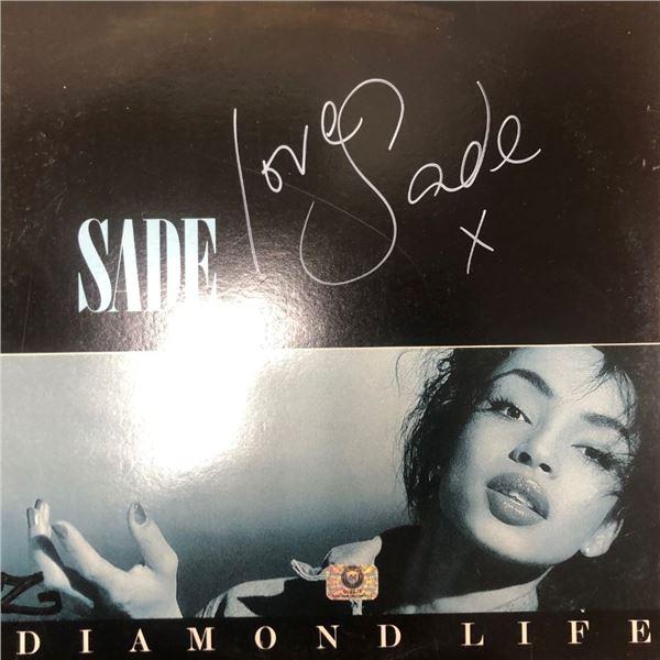 Signed Sade Diamond Life Album Cover