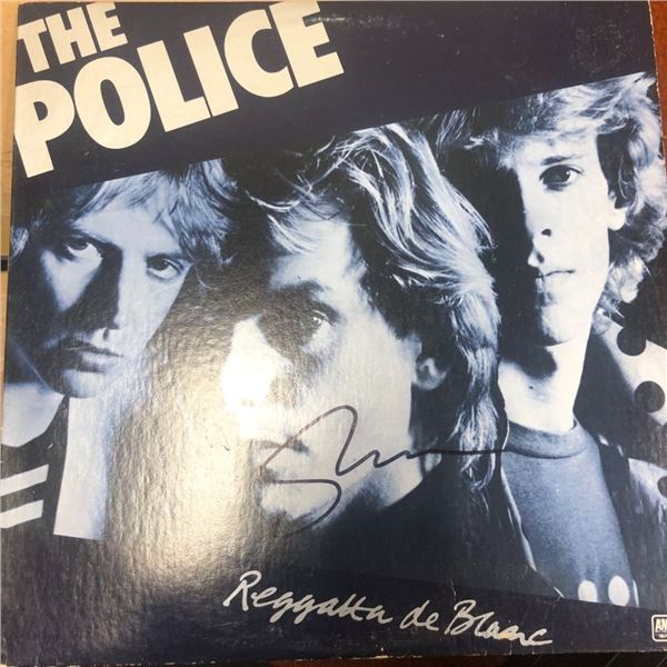 Signed Police Regatta de Blanc Album Cover