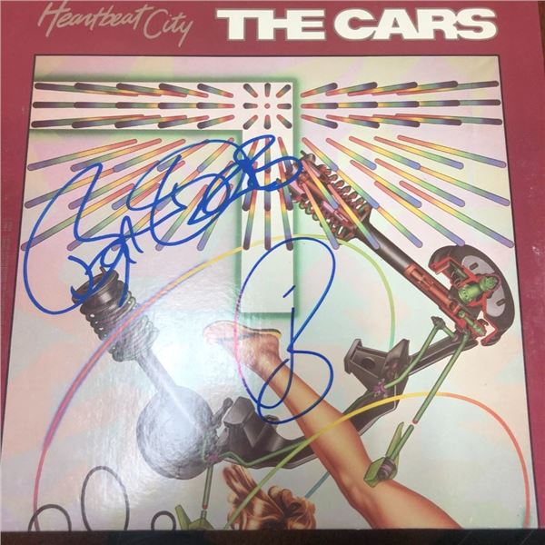 Signed Cars Heartbeat City Album Cover