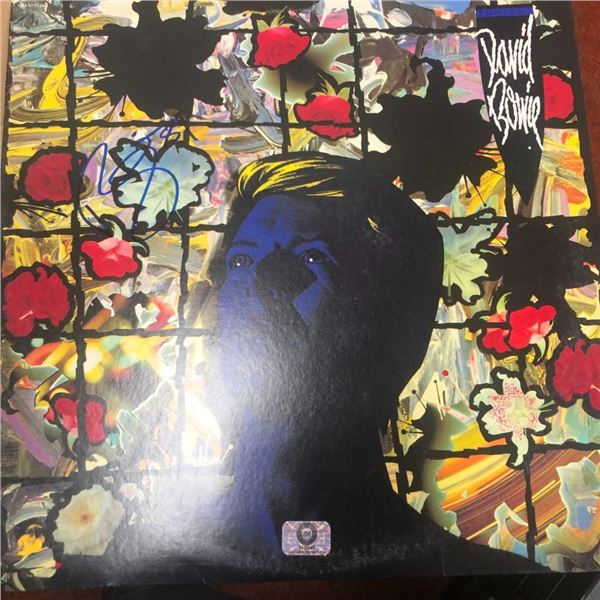 Signed David Bowie Album Cover