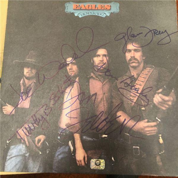 Signed Eagles Deperado Album Cover