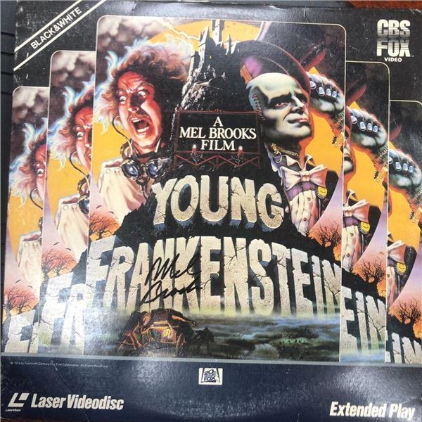 Signed Young Frankenstien Soundtrack Album Cover