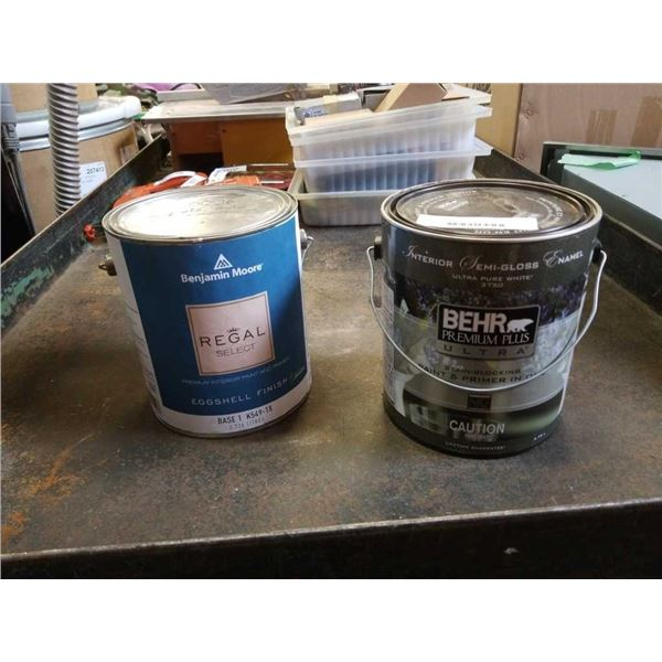 2 Cans of paint and primer in one