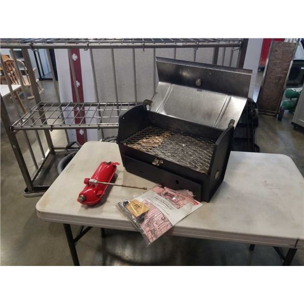As new coleman 4650 BBQ