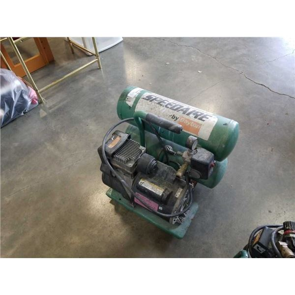 Dayton speedaire 4 gallon twin tank air compressor