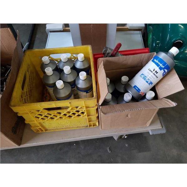 14 bottles of new tetrosyl vm rubbing compound