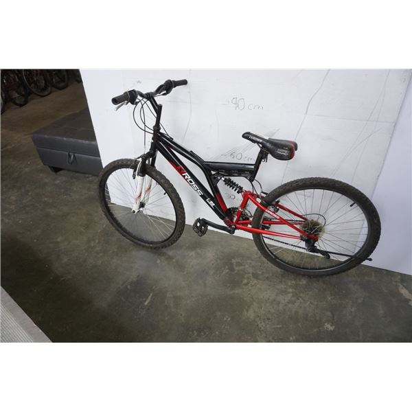 BLACK AND RED ROSS BIKE