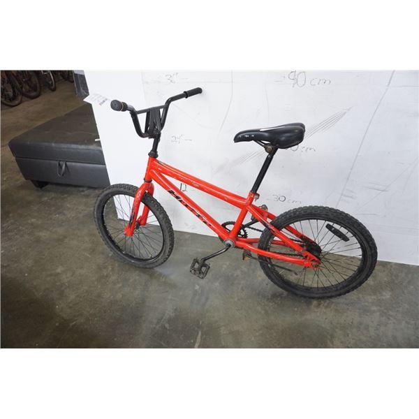 RED HUFFY BMX BIKE