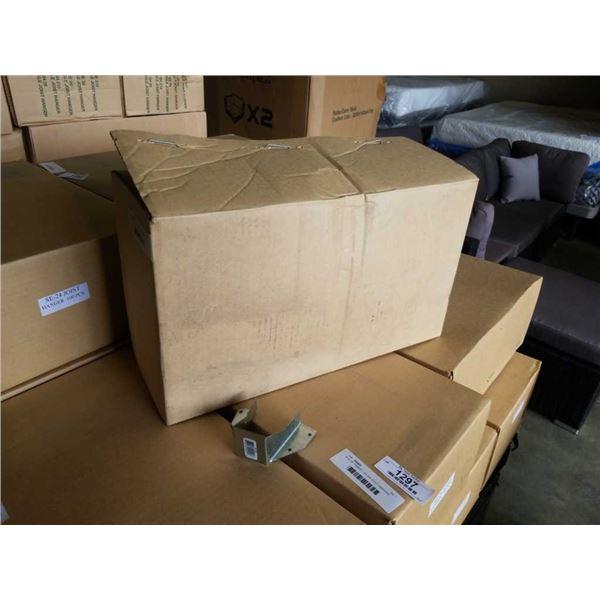 BOX OF TIMBER LOK 2x4 JOIST HANGERS 100PCS
