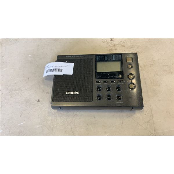 PHILIPS AE3625 WORLD RECEIVER RADIO