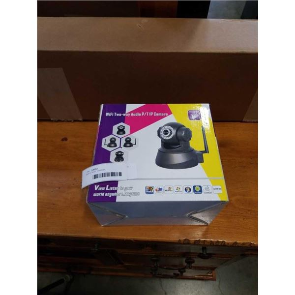 WIFI 2 WAY AUDIO CAMERA