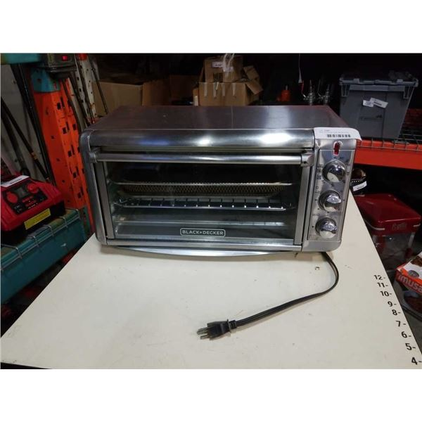 Black and Decker large capacity air fry convection oven working