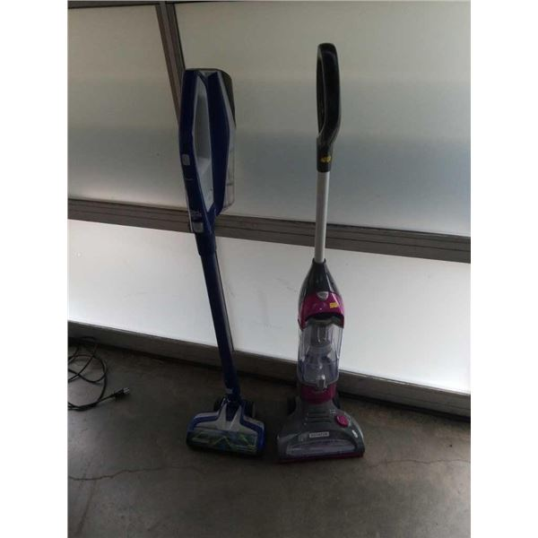 Dirt Devil cordless spin Pro vacuum and Shark   Rotator vacuum both work no Chargers