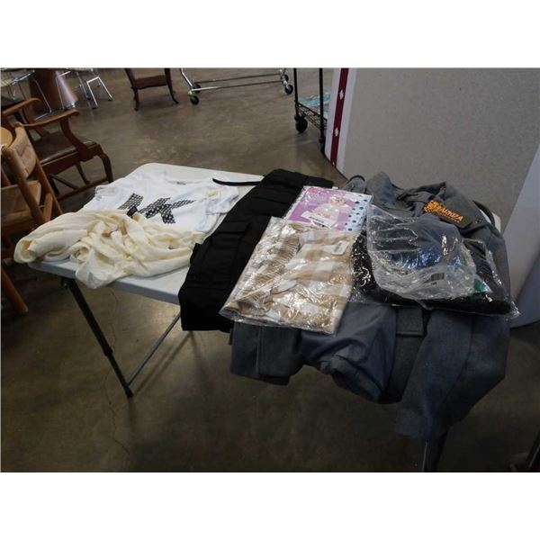 Lot of new clothing including michael kors shirt