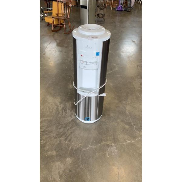VITAPUR STAINLESS AND WHITE WATER COOLER