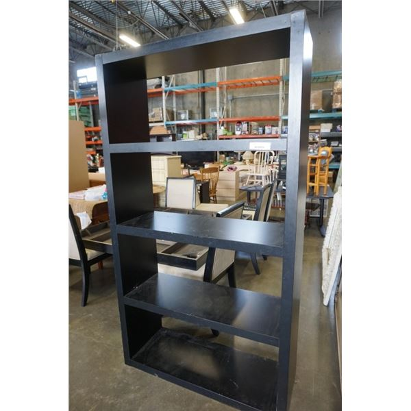 75 INCH BLACK SHELF