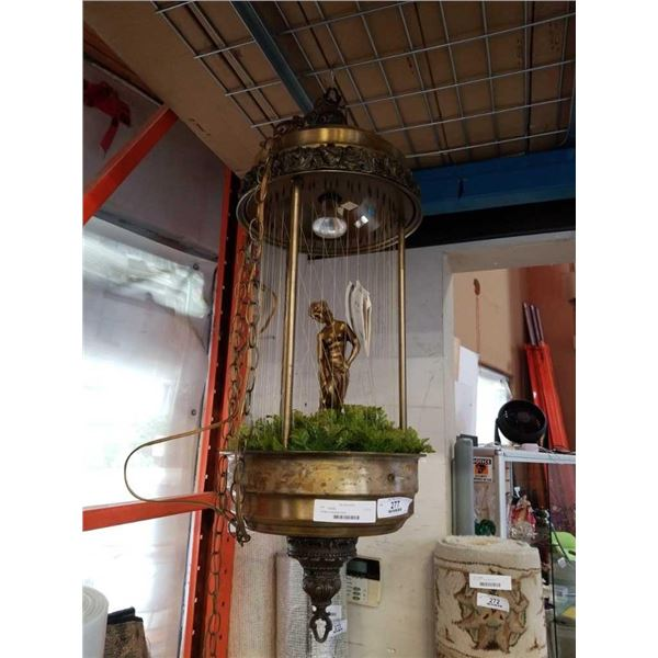 Vintage oil hanging fountain