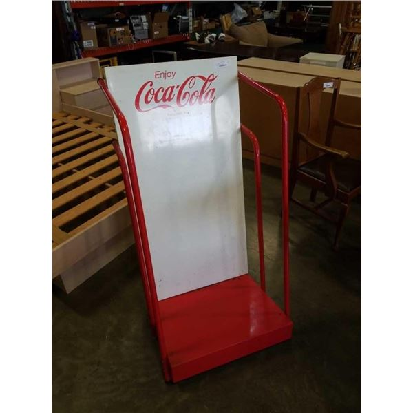 4 ft metal coca cola retail display