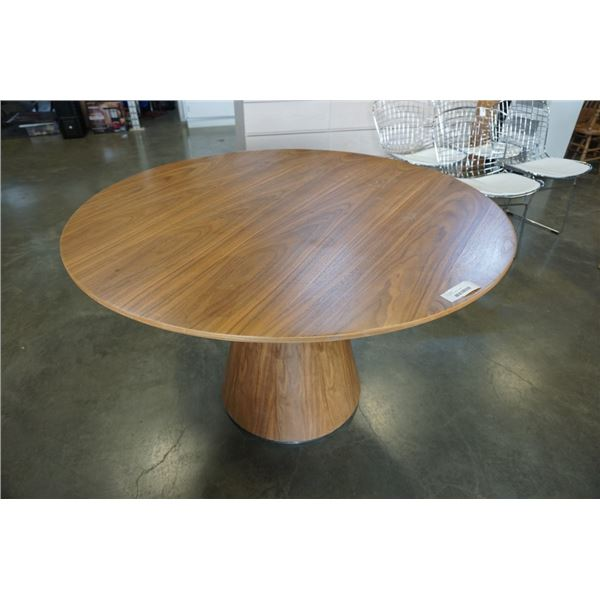 ROUND MCM DINING TABLE