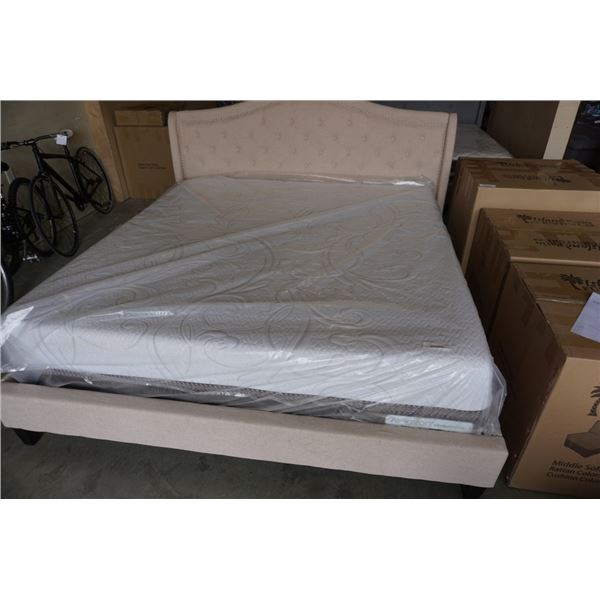 KING SIZE ICOMFORT DIRECTIONS MATTRESS W/ REMOVEABLE COVER RETAIL $3299 FLOOR MODEL