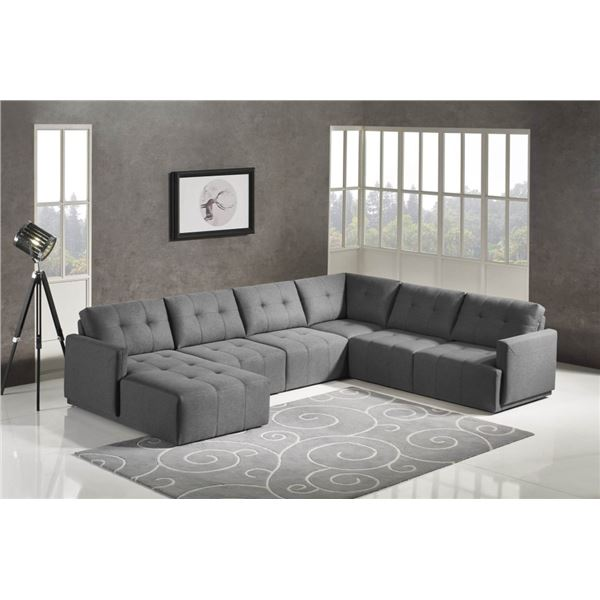 """BRAND NEW """"LEGGO"""" 5 PC SECTIONAL SOFA W/ CHAISE - RETAIL $4999, LEFT FACING   Solid Construction wit"""
