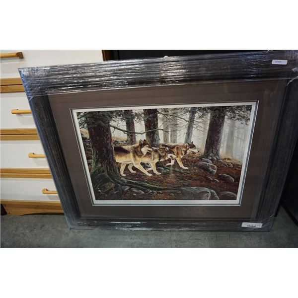 PRIMAL HUNTERS A/P LEP BY ANDREW KISS 25332 - HAND SIGNED AND NUMBERED ARTIST PROOF LIMITED EDITION