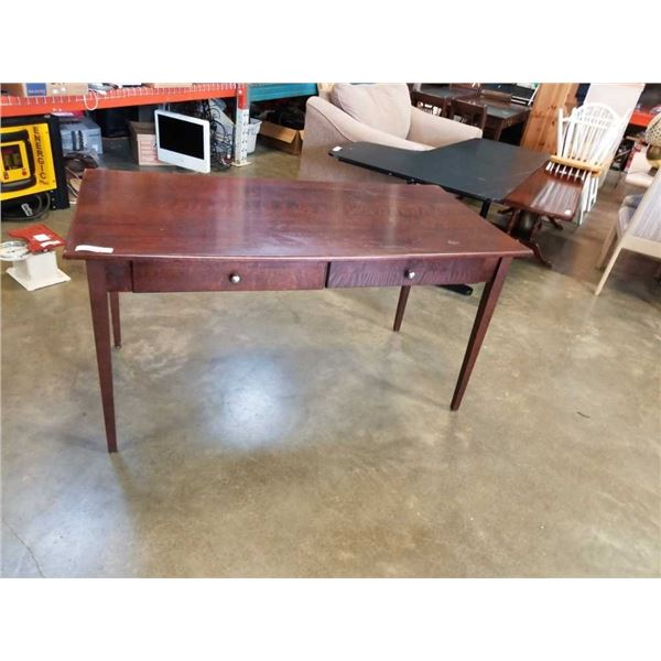 DINING TABLE WITH 2 DRAWERS