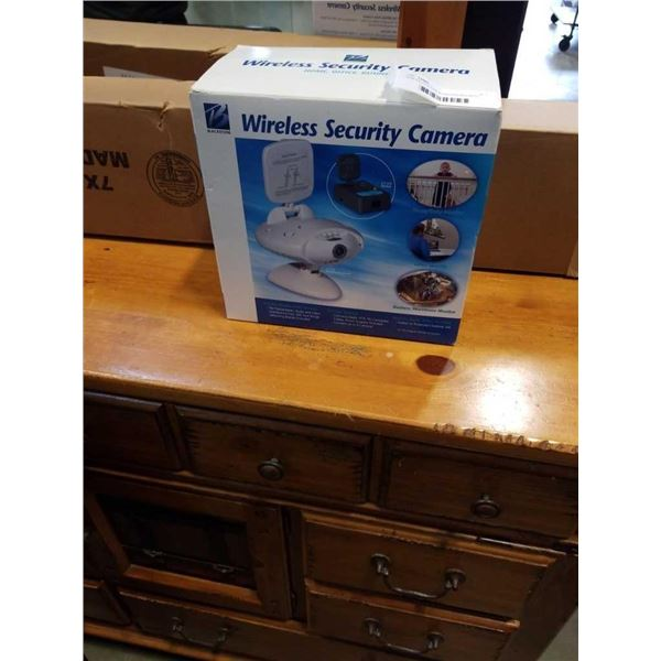 NEW BLACKSTONE WIRELESS SECURITY CAMERA IN BOX