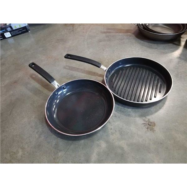 "Greenpan as new non stick, induction compatible 10"" fry pan in 11-inch skillet"