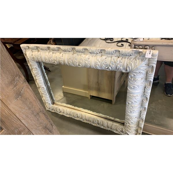 PAINTED BOMBAY BEVELLED MIRROR