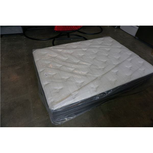 AS NEW DOUBLE SIZE SIMMONS BEAUTY REST STERLING DROP TOP MATTRESS RETAIL $1299