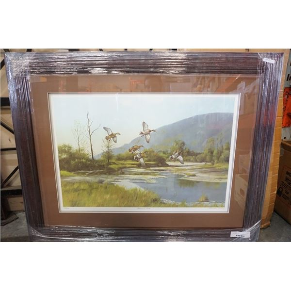 SUMMERS END LEP BY NORMAN KELLY 25338 -  - HAND SIGNED AND NUMBERED LIMITED EDITION PRINT