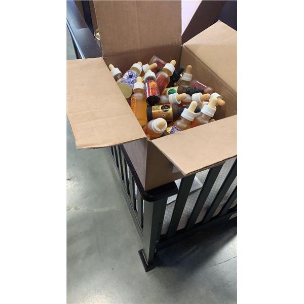 BOX OF VAPE JUICE