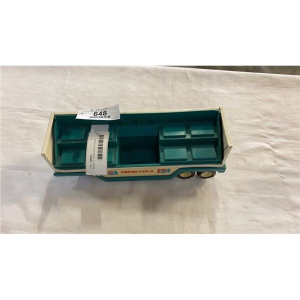 BUDDY L PEPSI COLA TRAILER TOY