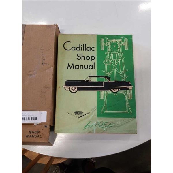 CADILLAC 1956 SHOP MANUAL