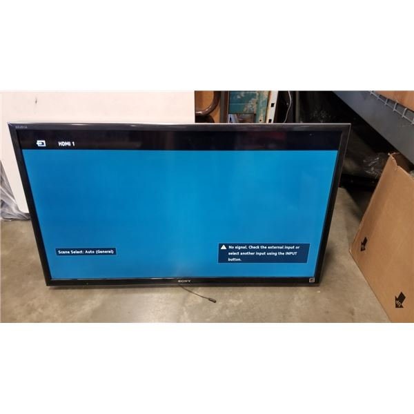 SONY BRAVIA 50 INCH TV - WORKING
