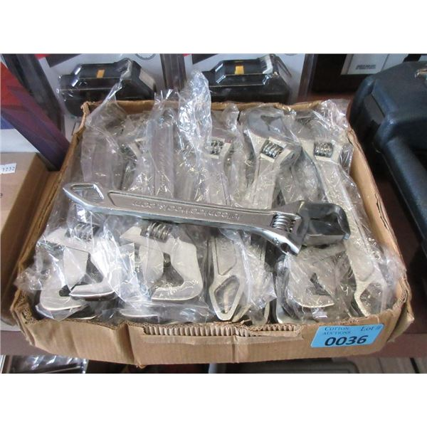 """Case of 30 New 10"""" Crescent Wrenches"""